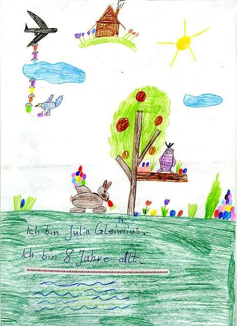 Julia, 8 Jahre