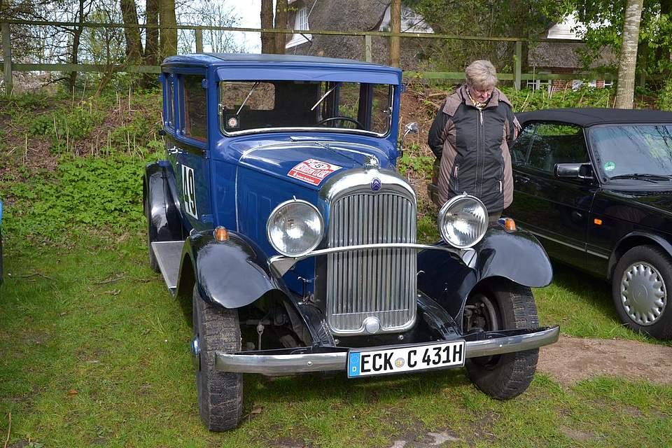 Citroen C4G von 1931.