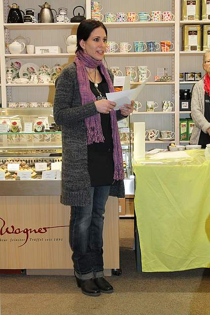 Teeseminar AboPlus beim Teespeicher Warns in Meldorf 2016-02-24