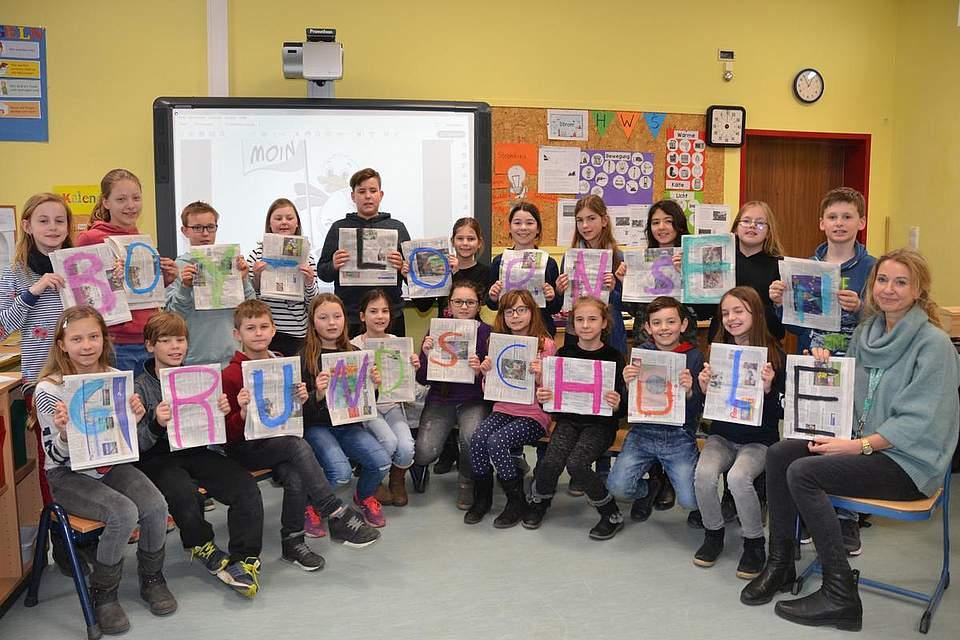 Boy-Lornsen-Schule Brunsbüttel, Klasse 4b