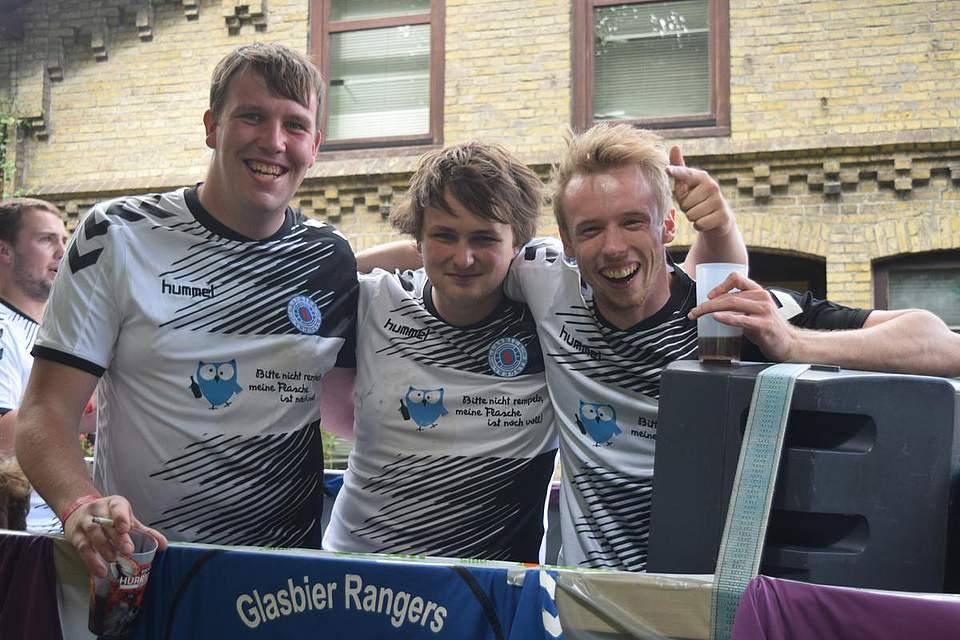 Die Glasbier Rangers. Foto: Büsing