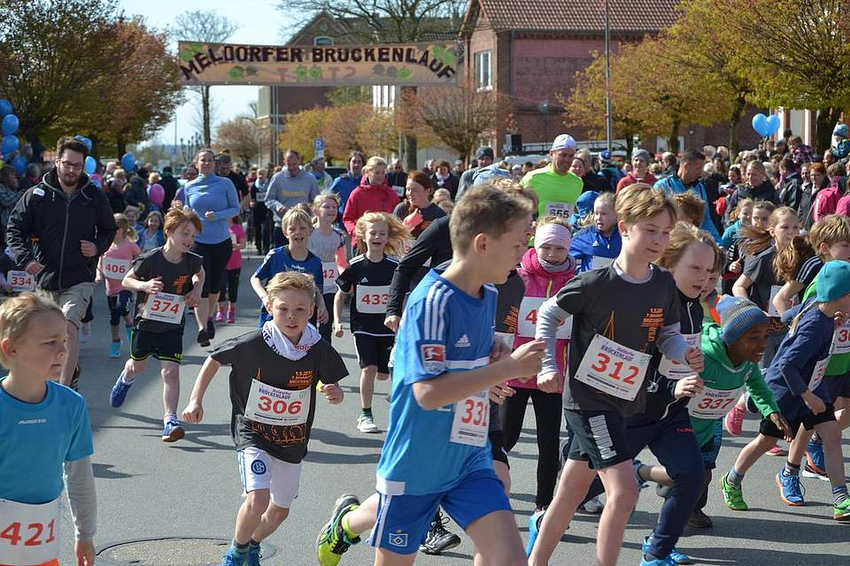 Start zum Kids Run.