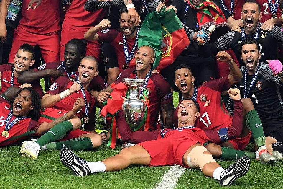 Portugal ist Europameister 2016. Foto: Gambarini
