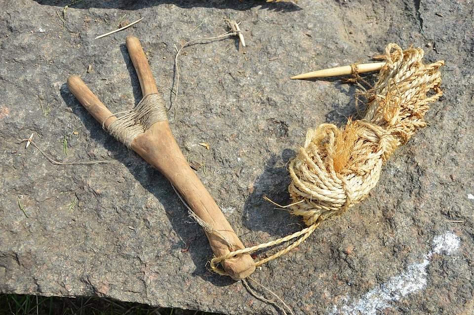 Die Steinzeitmenschen nutzten Querangeln wie diese.