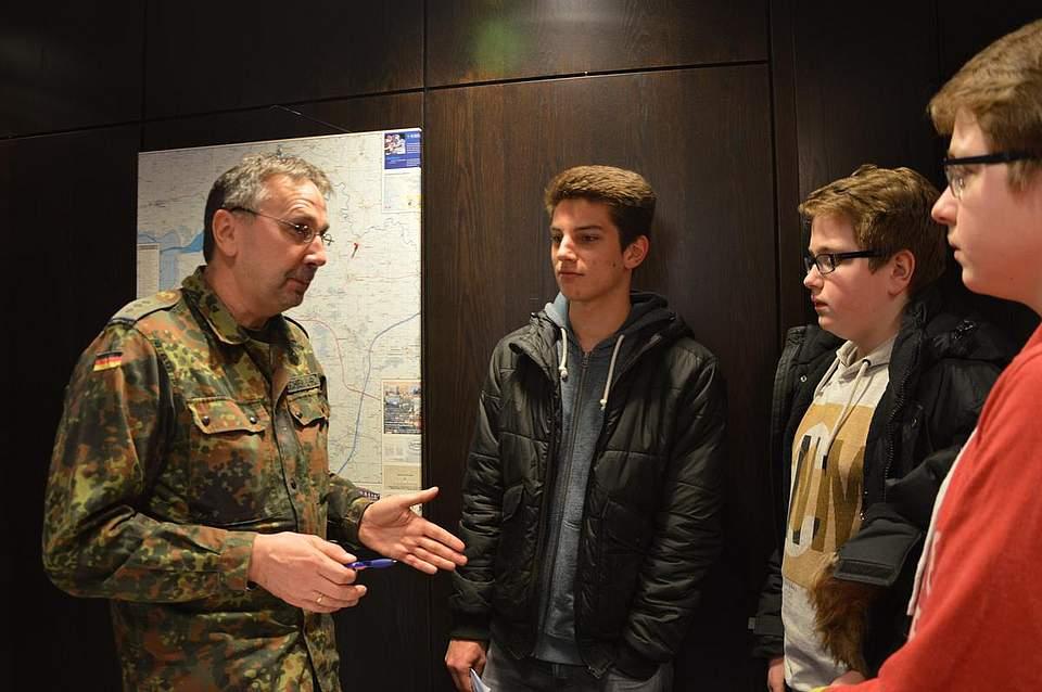 Auf Nachwuchs-Suche: Bundeswehr.