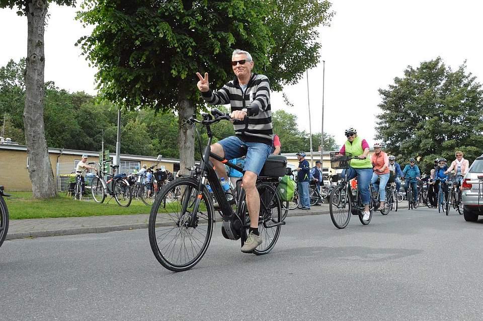 Viele waren schon oft bei der Boyens-Medien-Radtour dabei, für andere war es die Premiere.