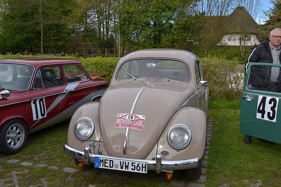 Ein VW-Käfer, Baujahr 1956.