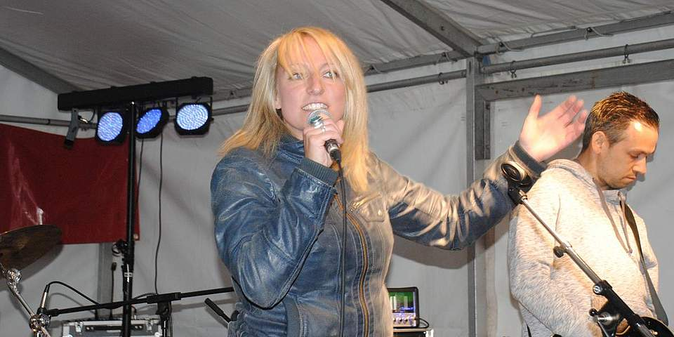 Katrin Werth, Sängerin von Betarox