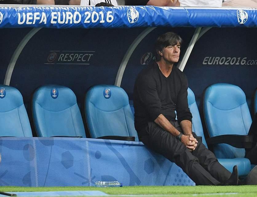 Joachim Löw nach dem verlorenen Halbfinale. Foto: Dedert