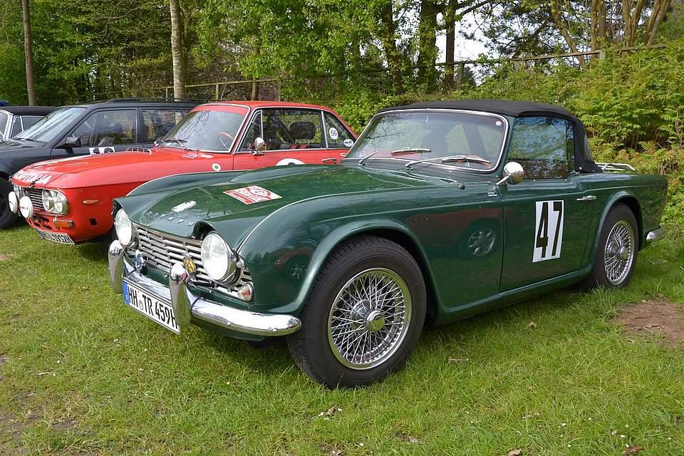 Triumph TR4 von 1962.