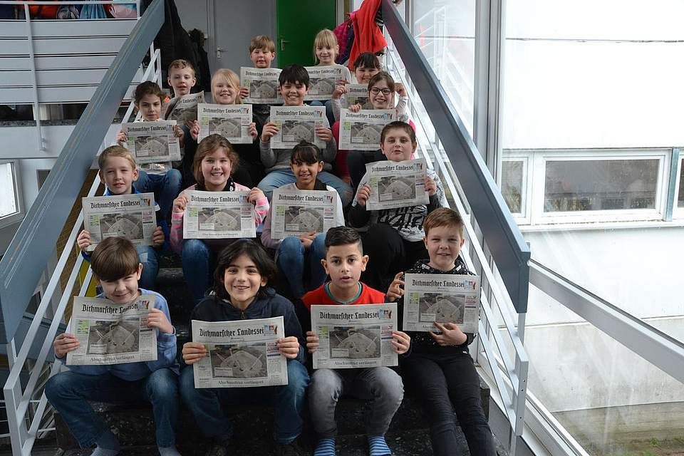 Grundschule Wesselburen Klasse 3a
