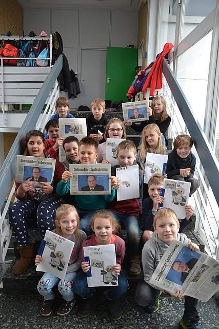 Grundschule Wesselburen, Klasse 3b