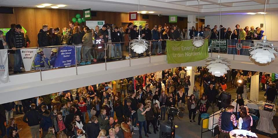 Etwa 1200 Besucher informierten sich beim Late-Night-Jobbing rund um Beruf und Ausbildung.