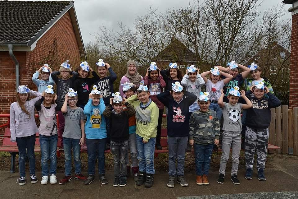 Boy-Lornsen-Schule Brunsbüttel, Klasse 3b