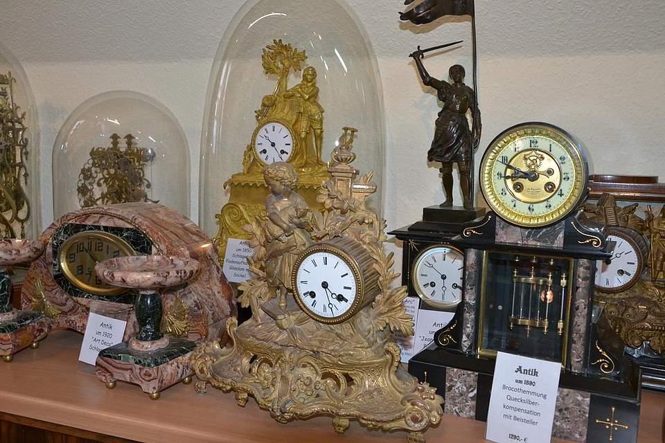 Kulturtag: Blick in das Uhrenmuseum von Ingo Voß.