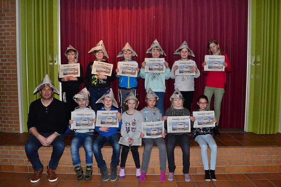 Grundschule am Klev in Buchholz, Klasse 4b