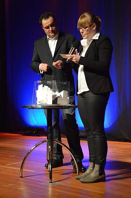 Stefan Schmid und Anna-Louisa Wolff.