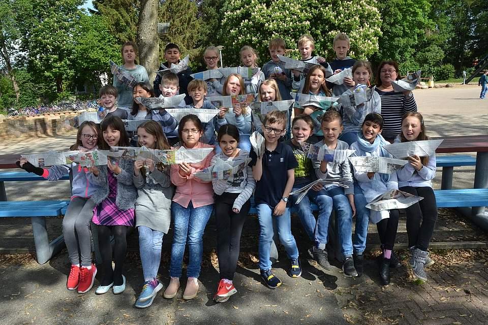 St. Georg Schule Heide, Klasse 3b