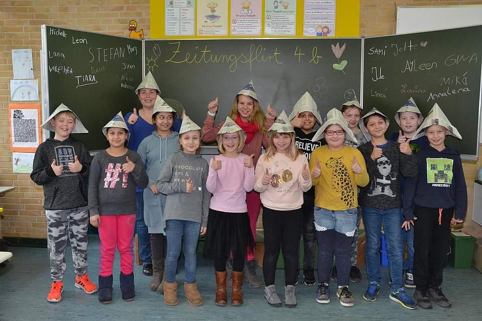 Grundschule Wesselburen, Klasse 4b
