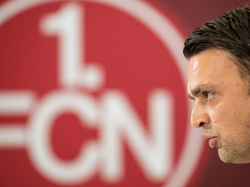 Fußball-Bundesligist 1. FC Nürnberg hat Robert Palikuca als neuen Vorstand Sport vorgestellt. Der 40 Jahre alte Kroate folgt auf Andreas Bornemann. Foto: Daniel Karmann