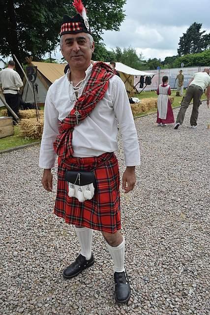 Mittelalter auf schottisch. Foto: Büsing