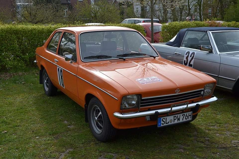 Opel Kadett, Baujahr 1976.