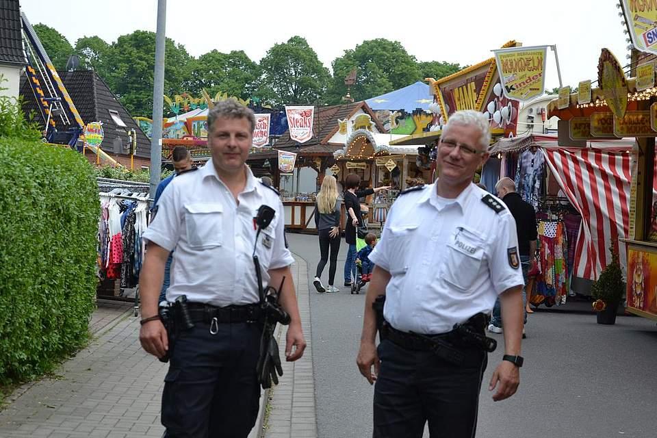 Im Ausnahmezustand: Jan Wierk und Otto Johannsen.